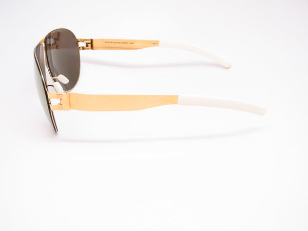 Mykita Bernard Willhelm Wastl F9 Gold w/Gold Flash Mirrored Sunglasses - Eye Heart Shades - Mykita - Sunglasses - 5