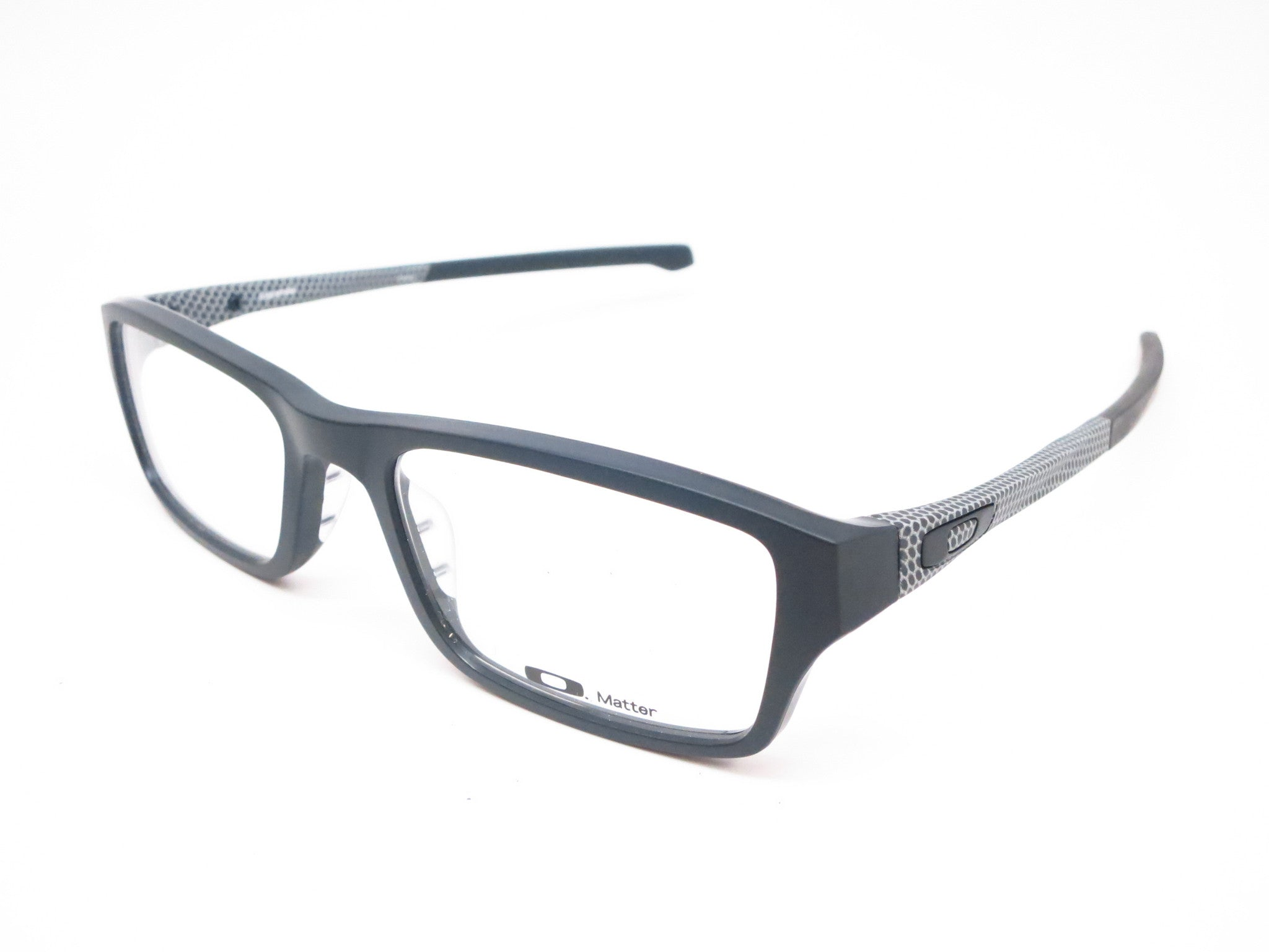 60e4358473c Oakley Chamfer OX8039-1351 Satin Black Eyeglasses - Eye Heart Shades -  Oakley - Eyeglasses