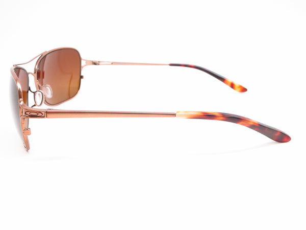 Oakley Conquest OO4101-01 Satin Rose Gold Polarized Sunglasses - Eye Heart Shades - Oakley - Sunglasses - 5