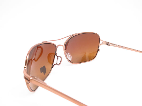 Oakley Conquest OO4101-01 Satin Rose Gold Polarized Sunglasses - Eye Heart Shades - Oakley - Sunglasses - 6