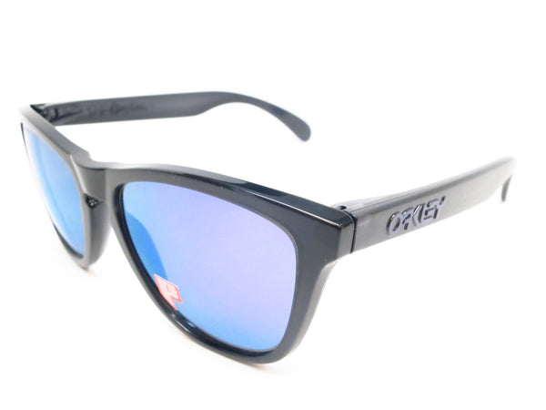 Oakley Frogskins OO9013-09 Black Polarized Sunglasses - Eye Heart Shades - Oakley - Sunglasses - 1