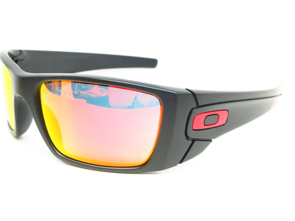 Oakley Fuel Cell OO9096-A8 Matte Black Ferrari Sunglasses - Eye Heart Shades - Oakley - Sunglasses - 1