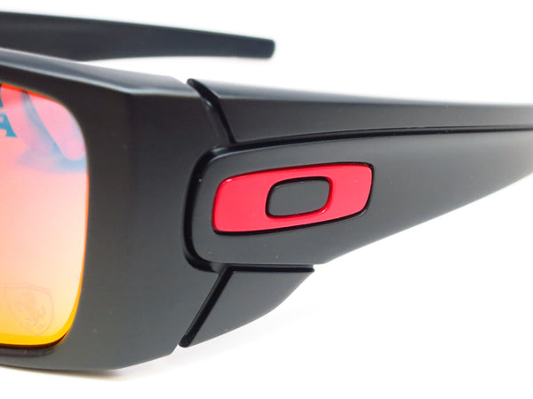 Oakley Fuel Cell OO9096-A8 Matte Black Ferrari Sunglasses - Eye Heart Shades - Oakley - Sunglasses - 3