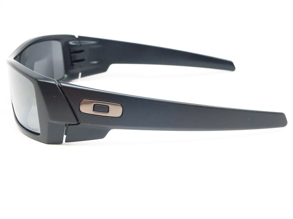 Oakley Gascan 12-856 Matte Black Polarized Sunglasses - Eye Heart Shades - Oakley - Sunglasses - 5