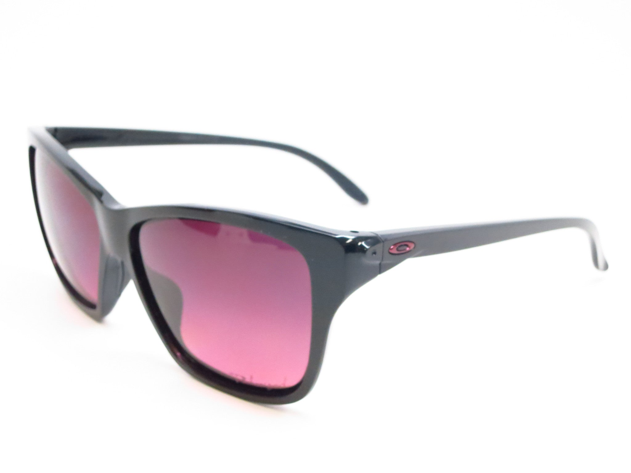 127fd1c9a2 Oakley Hold On OO9298-02 Polished Black Polarized Sunglasses - Eye Heart  Shades - Oakley ...