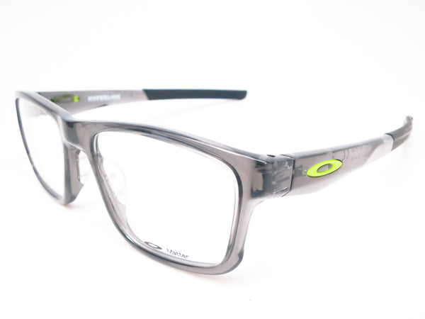 Oakley Hyperlink OX8078-02 Grey Smoke Eyeglasses - Eye Heart Shades - Oakley - Eyeglasses - 1