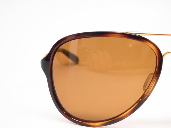 Oakley Kickback OO4102-02 Satin Gold / Tortoise Polarized Sunglasses - Eye Heart Shades - Oakley - Sunglasses - 4