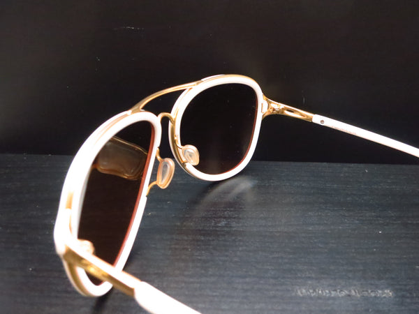 Oakley Kickback OO4102-06 Satin Polished Gold / White Sunglasses - Eye Heart Shades - Oakley - Sunglasses - 6