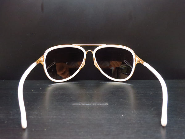 Oakley Kickback OO4102-06 Satin Polished Gold / White Sunglasses - Eye Heart Shades - Oakley - Sunglasses - 7