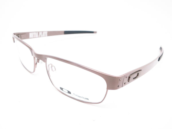 Oakley Metal Plate OX5038-06 Brushed Chrome Eyeglasses - Eye Heart Shades - Oakley - Eyeglasses - 1