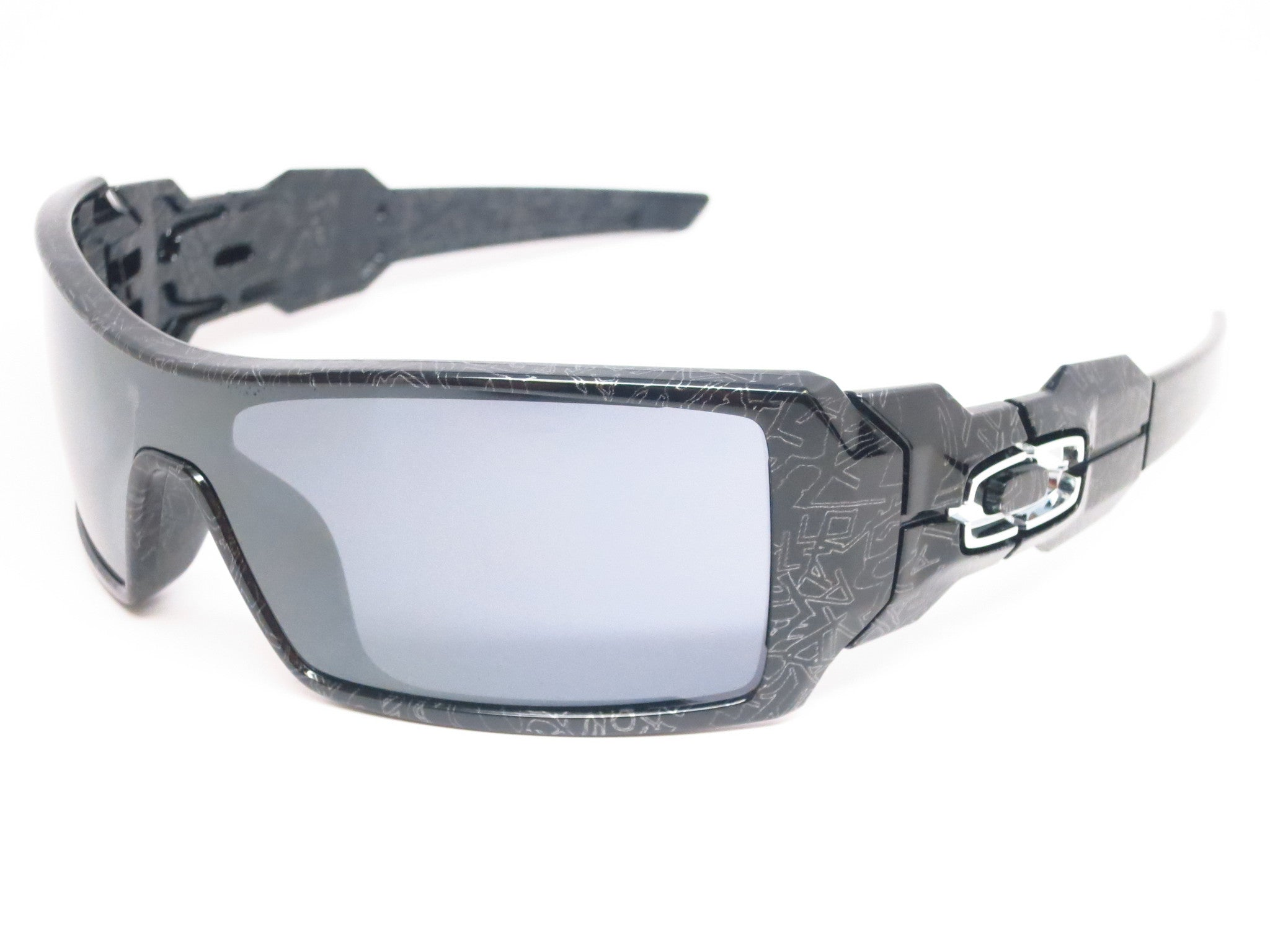 Oakley Herren Sonnenbrille Oil Rig polished black wgwmKJ