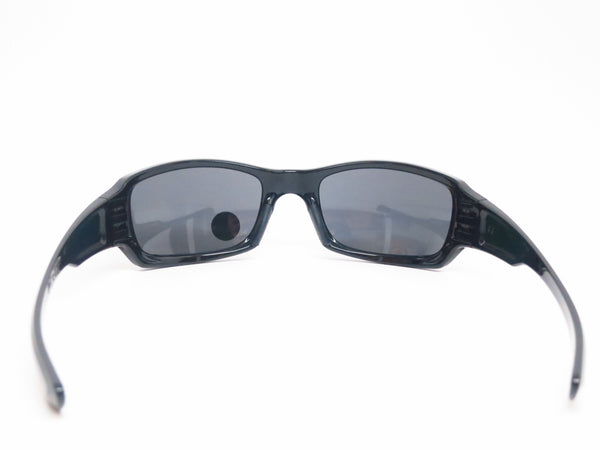 Oakley OO9238-06 Fives Squared Polished Black Polarized Sunglasses - Eye Heart Shades - 10