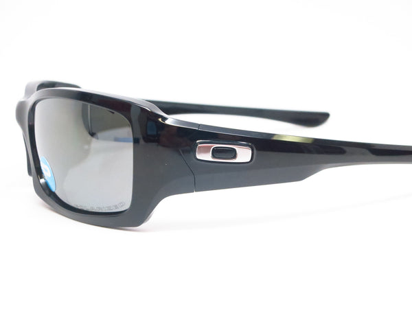 Oakley OO9238-06 Fives Squared Polished Black Polarized Sunglasses - Eye Heart Shades - 4