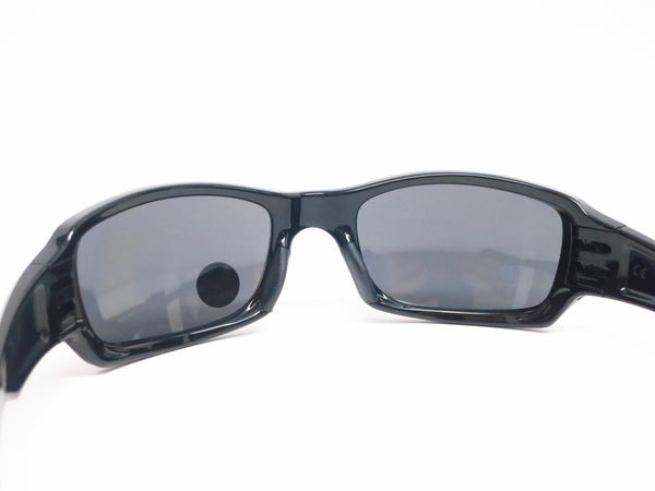 Oakley OO9238-06 Fives Squared Polished Black Polarized Sunglasses - Eye Heart Shades - 9