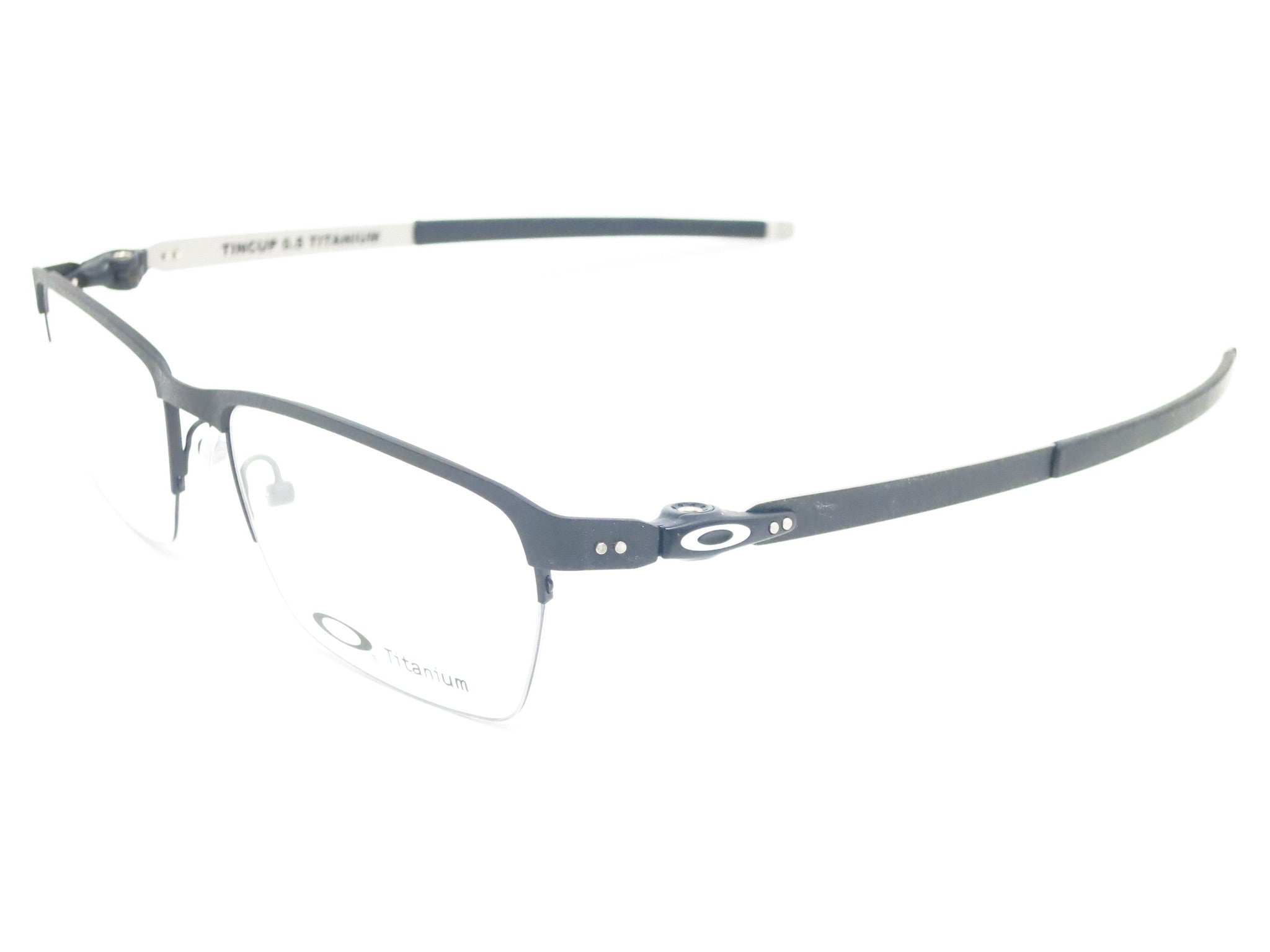 a4b30ff9f37 Oakley TinCup 0.5 Ti OX5099-0153 Powder Cole Eyeglasses - Eye Heart Shades  - Oakley ...