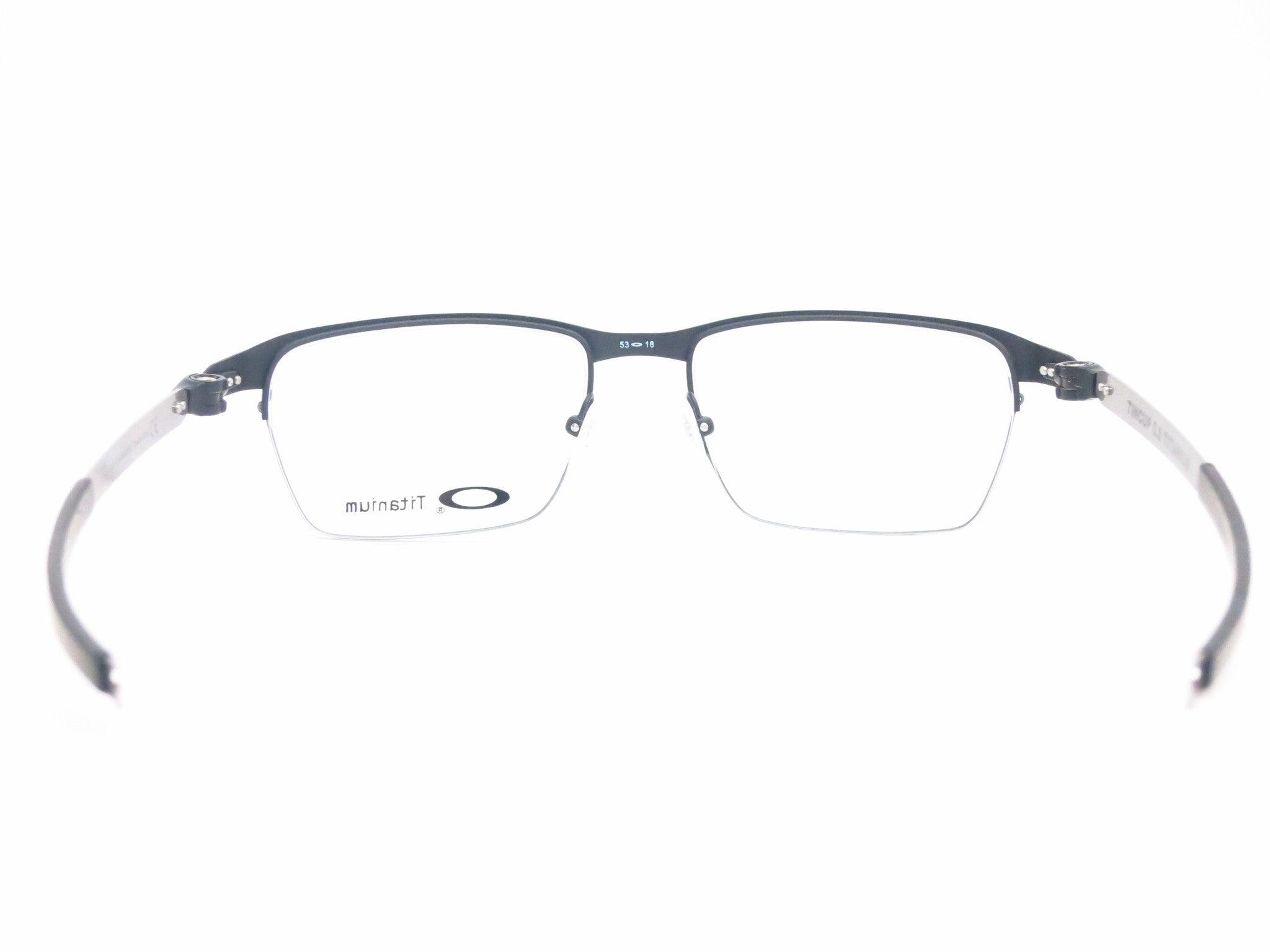 ecc9824477f ... Oakley TinCup 0.5 Ti OX5099-0153 Powder Cole Eyeglasses - Eye Heart  Shades - Oakley