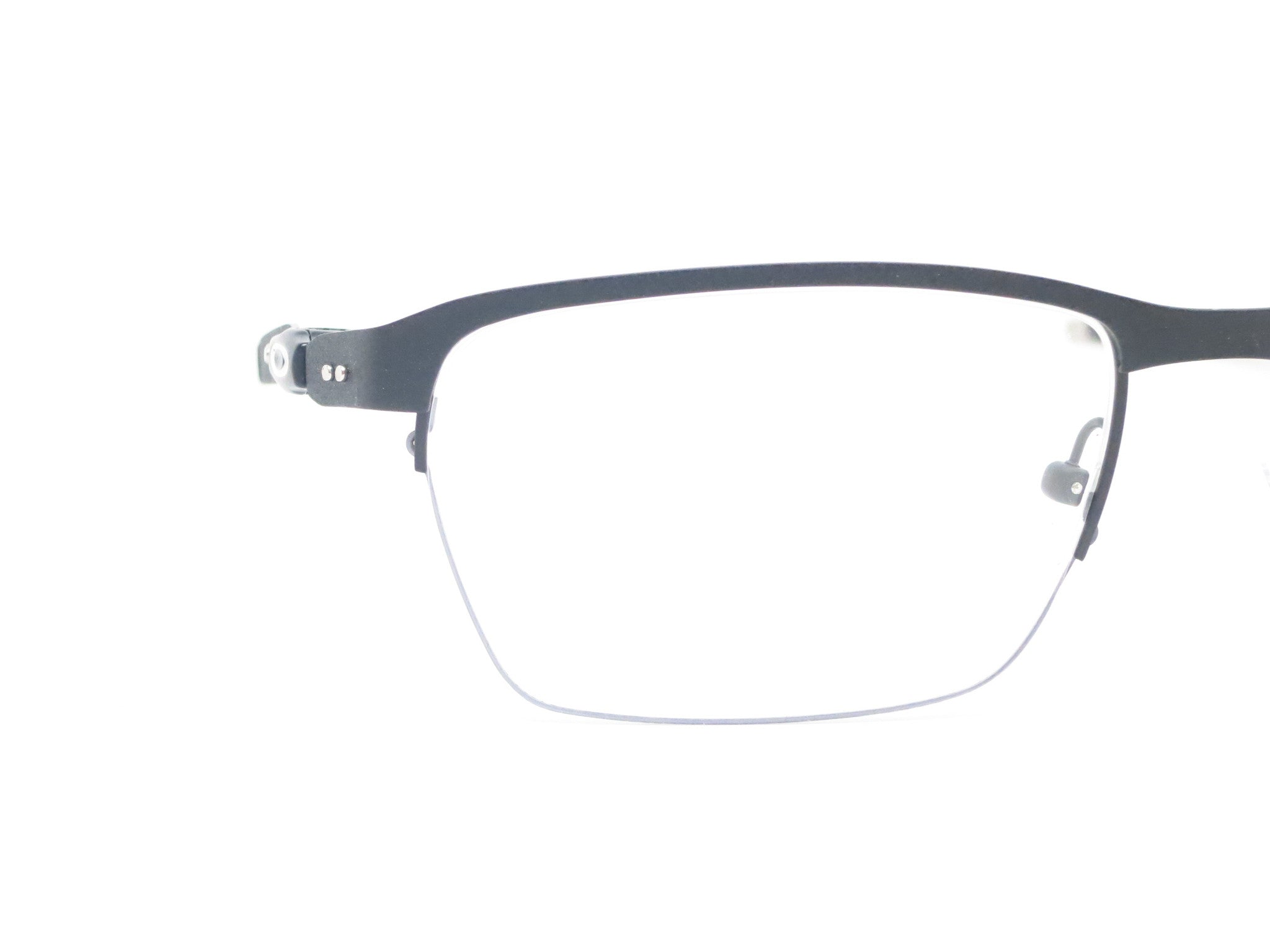 238eacc1342 ... Oakley TinCup 0.5 Ti OX5099-0153 Powder Cole Eyeglasses - Eye Heart  Shades - Oakley ...
