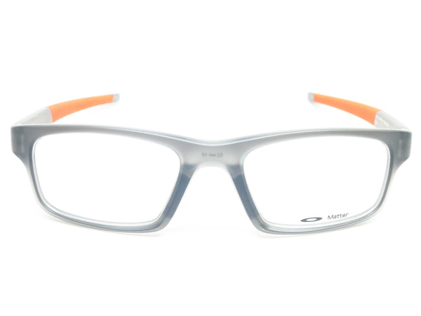 Oakley Crosslink Pitch OX8037-0652 Satin Grey Smoke Eyeglasses - Eye Heart Shades - Oakley - Eyeglasses - 2