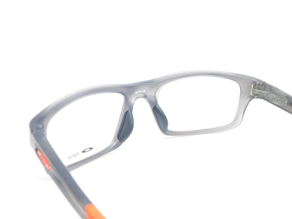 Oakley Crosslink Pitch OX8037-0652 Satin Grey Smoke Eyeglasses - Eye Heart Shades - Oakley - Eyeglasses - 6