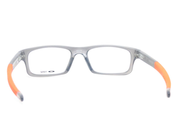 Oakley Crosslink Pitch OX8037-0652 Satin Grey Smoke Eyeglasses - Eye Heart Shades - Oakley - Eyeglasses - 7