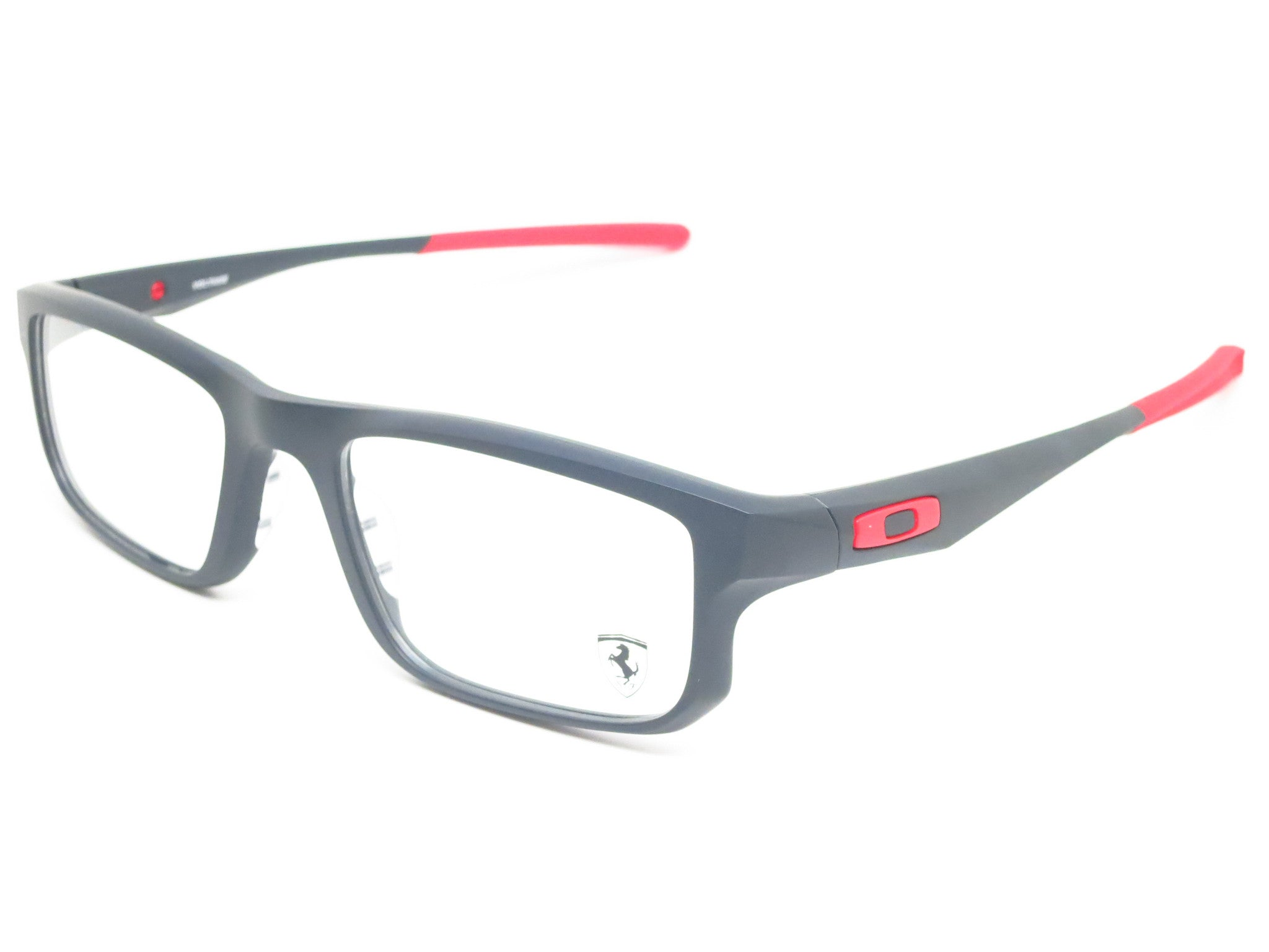 ce66e83b71 Oakley Voltage Scuderia Ferrari OX8049-0753 Satin Black Eyeglasses - Eye  Heart Shades - Oakley ...