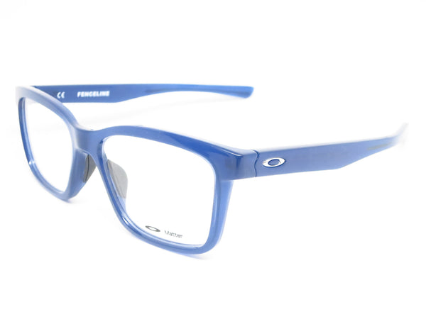 Oakley Fenceline OX8069-0553 Frosted Navy Eyeglasses - Eye Heart Shades - Oakley - Eyeglasses - 1
