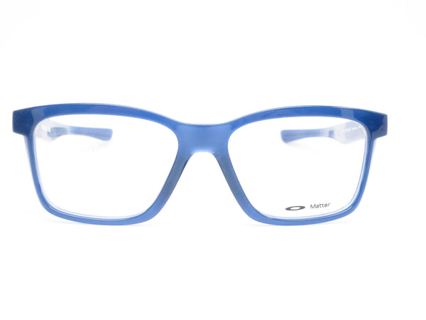 Oakley Fenceline OX8069-0553 Frosted Navy Eyeglasses - Eye Heart Shades - Oakley - Eyeglasses - 2