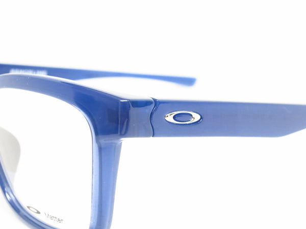Oakley Fenceline OX8069-0553 Frosted Navy Eyeglasses - Eye Heart Shades - Oakley - Eyeglasses - 3