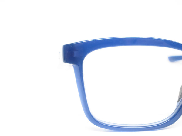 Oakley Fenceline OX8069-0553 Frosted Navy Eyeglasses - Eye Heart Shades - Oakley - Eyeglasses - 4