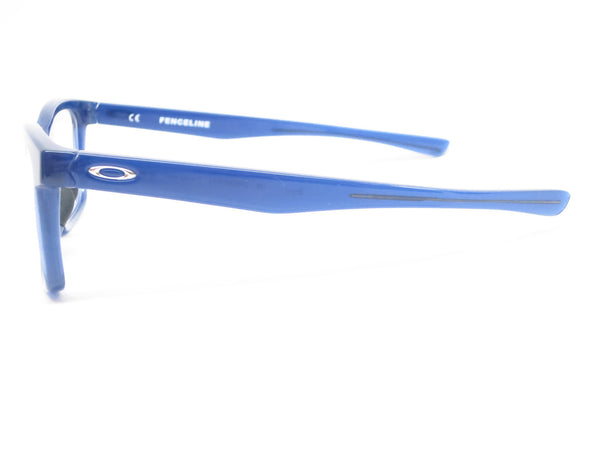 Oakley Fenceline OX8069-0553 Frosted Navy Eyeglasses - Eye Heart Shades - Oakley - Eyeglasses - 5