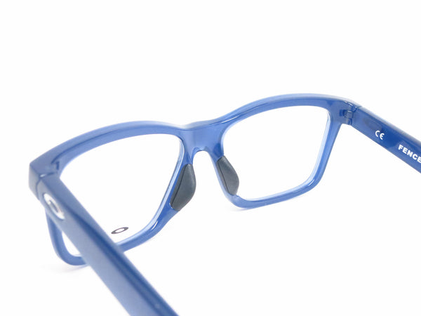 Oakley Fenceline OX8069-0553 Frosted Navy Eyeglasses - Eye Heart Shades - Oakley - Eyeglasses - 6