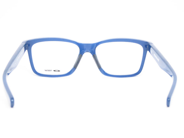 Oakley Fenceline OX8069-0553 Frosted Navy Eyeglasses - Eye Heart Shades - Oakley - Eyeglasses - 7