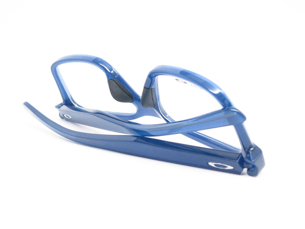 Oakley Fenceline OX8069-0553 Frosted Navy Eyeglasses - Eye Heart Shades - Oakley - Eyeglasses - 8