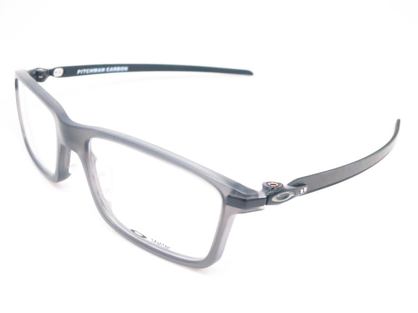 Oakley Pitchman Carbon OX8092-02 Satin Grey Smoke Eyeglasses - Eye Heart Shades - Oakley - Eyeglasses - 1