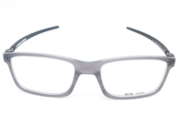 Oakley Pitchman Carbon OX8092-02 Satin Grey Smoke Eyeglasses - Eye Heart Shades - Oakley - Eyeglasses - 2