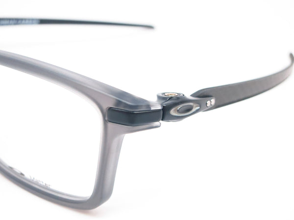 Oakley Pitchman Carbon OX8092-02 Satin Grey Smoke Eyeglasses - Eye Heart Shades - Oakley - Eyeglasses - 3