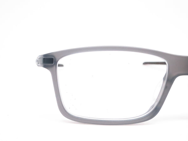 Oakley Pitchman Carbon OX8092-02 Satin Grey Smoke Eyeglasses - Eye Heart Shades - Oakley - Eyeglasses - 4