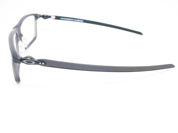 Oakley Pitchman Carbon OX8092-02 Satin Grey Smoke Eyeglasses - Eye Heart Shades - Oakley - Eyeglasses - 5