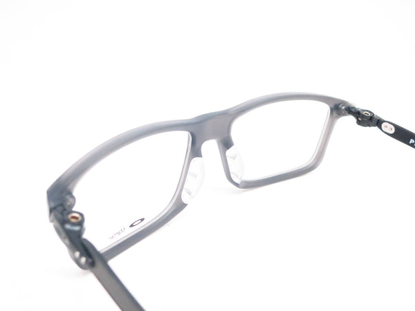 Oakley Pitchman Carbon OX8092-02 Satin Grey Smoke Eyeglasses - Eye Heart Shades - Oakley - Eyeglasses - 6