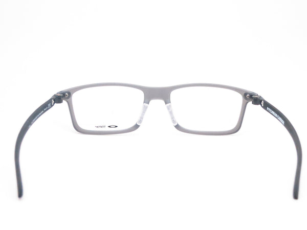 Oakley Pitchman Carbon OX8092-02 Satin Grey Smoke Eyeglasses - Eye Heart Shades - Oakley - Eyeglasses - 7