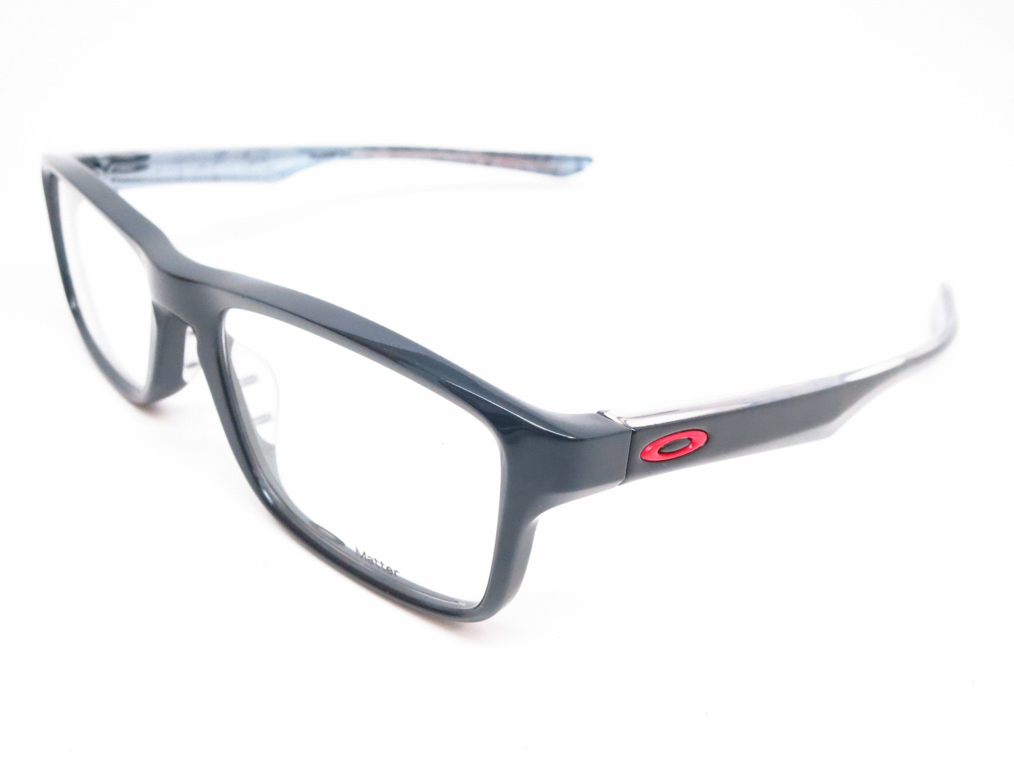 59e318b9687 Oakley Plank 2.0 OX8081-02 Polished Black Eyeglasses - Eye Heart Shades -  Oakley ...