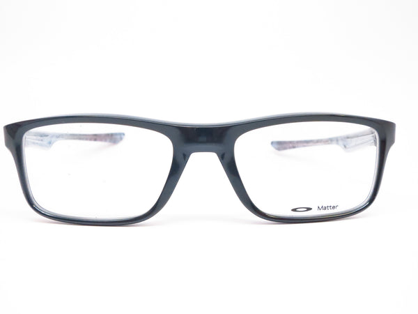 257548130d6 Oakley Plank 2.0 OX8081-02 Polished Black Eyeglasses - Eye Heart Shades