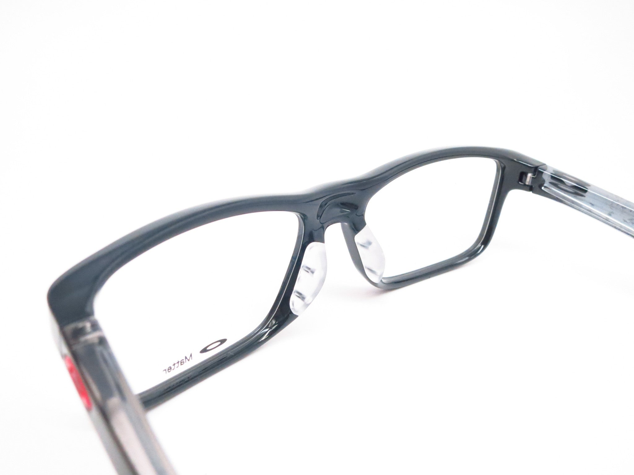 d5da311480 Oakley Plank 2.0 OX8081-02 Polished Black Eyeglasses - Eye Heart Shades
