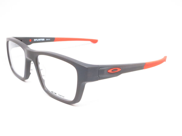 Oakley Splinter OX8077-0552 Satin Flint / Orange Eyeglasses - Eye Heart Shades - Oakley - Eyeglasses - 1