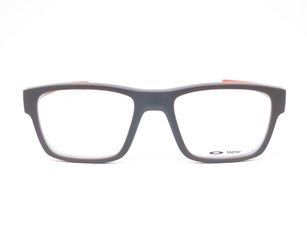 Oakley Splinter OX8077-0552 Satin Flint / Orange Eyeglasses - Eye Heart Shades - Oakley - Eyeglasses - 2