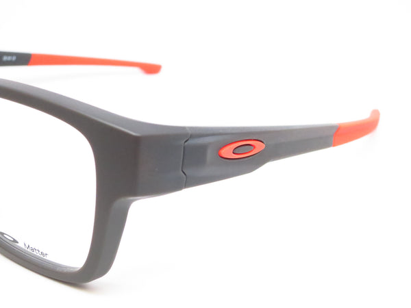 Oakley Splinter OX8077-0552 Satin Flint / Orange Eyeglasses - Eye Heart Shades - Oakley - Eyeglasses - 3