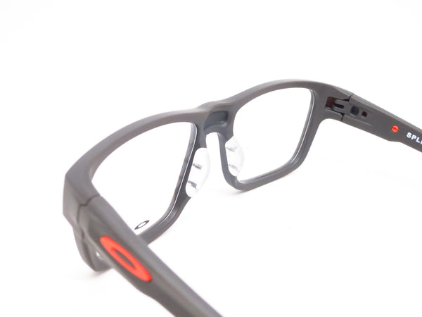 Oakley Splinter OX8077-0552 Satin Flint / Orange Eyeglasses - Eye Heart Shades - Oakley - Eyeglasses - 6
