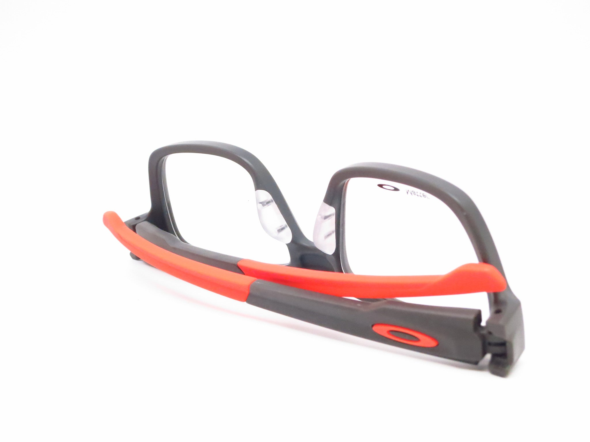 oakley splinter  Oakley Splinter OX8077-0552 Satin Flint / Orange Eyeglasses - Eye ...
