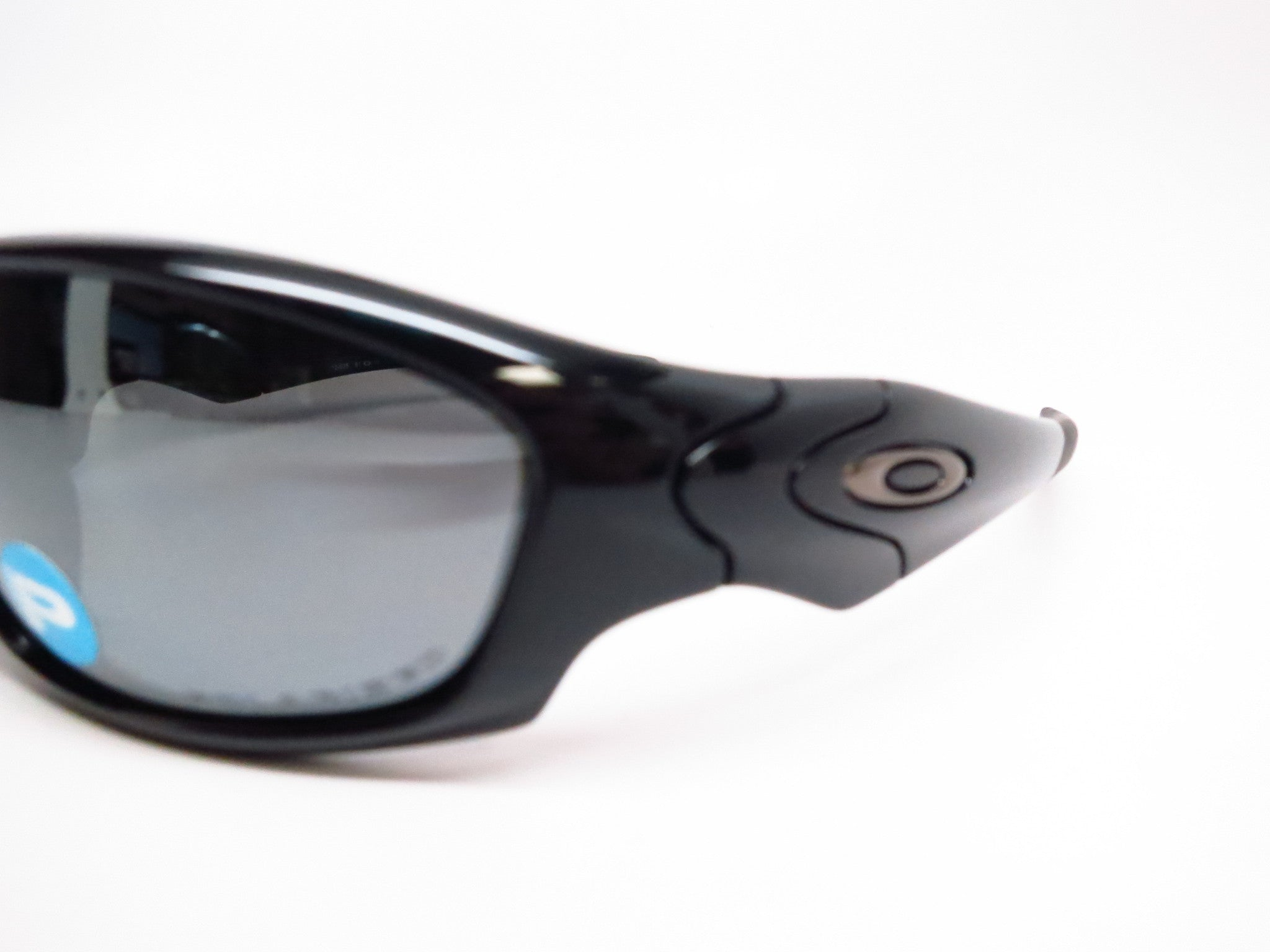 4be91353229 ... Oakley Straight Jacket 12-935 Polished Black Polarized Sunglasses - Eye  Heart Shades - Oakley ...