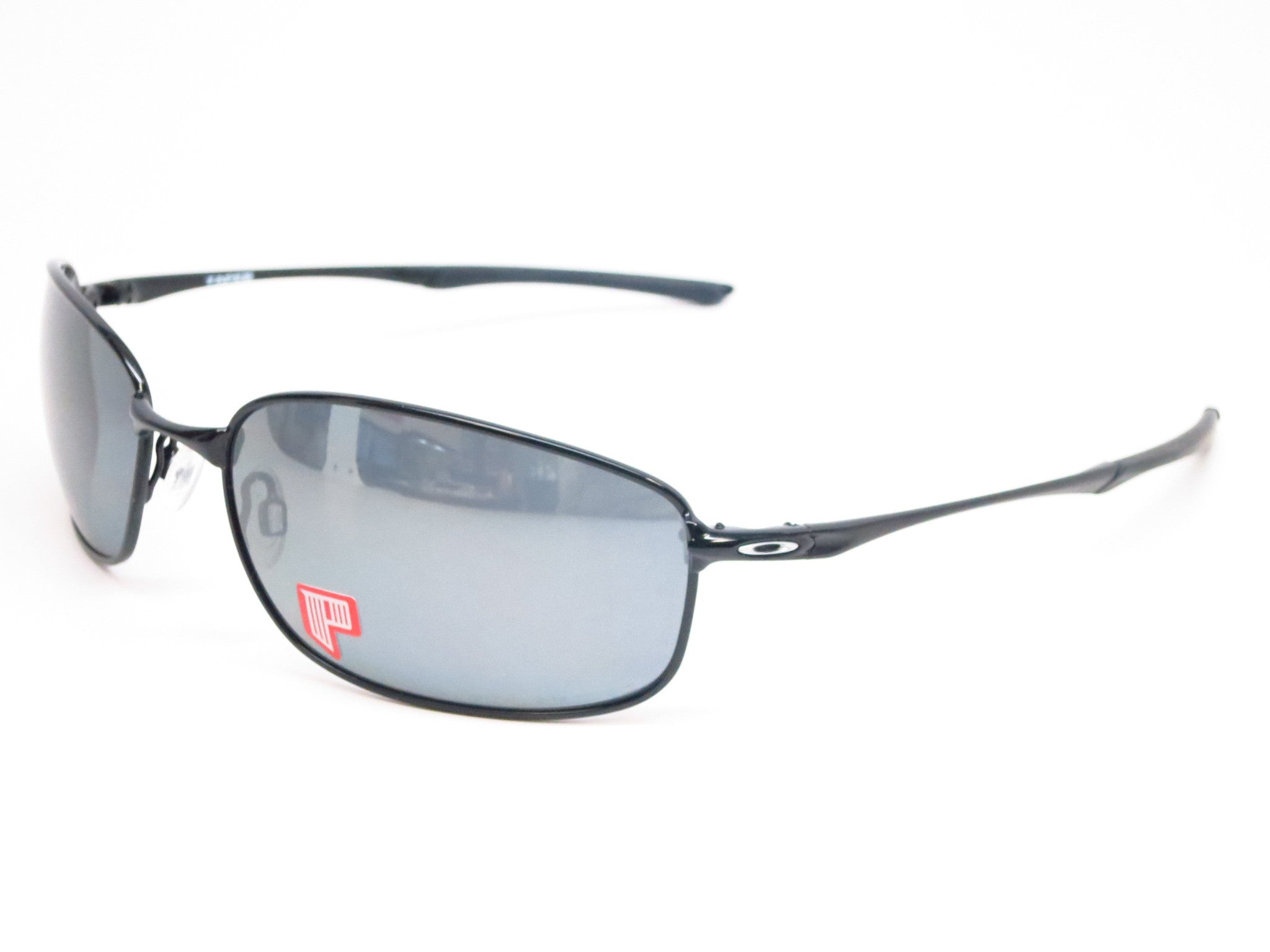 aed15d3bb8b Oakley Taper OO4074-04 Polished Black Polarized Sunglasses - Eye Heart  Shades - Oakley ...